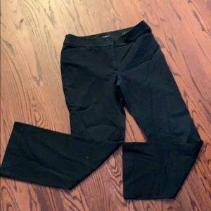 LOFT Black Boot Cut Pants